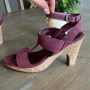 Sam & Libby cork heels